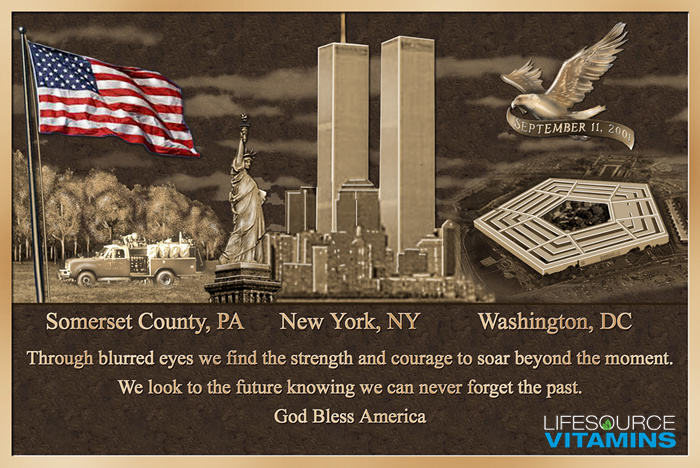 LifeSource Vitamins - Remembering 9/11.